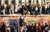 Breaking-down of the Berlin Wall