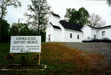 Copper Ridge baptist church