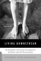 Sandra Steingraber book cover: Living Downstream