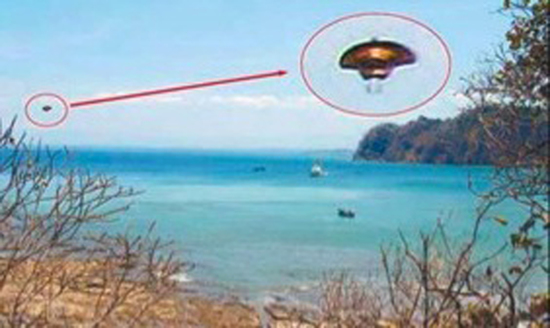 Benjamin Creme's Master confirms that the object was a spaceship from Mars.