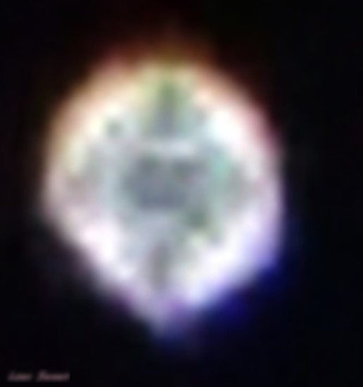 Share International September 2016 images, Benjamin Creme's Master confirms that the object is Maitreya's 'star'.