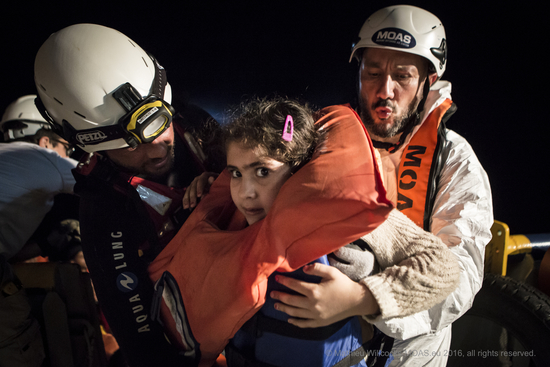 Share International December 2016 images, Over 30,000 people have already been saved since MOAS launched its first life-saving mission in 2014, and almost 19,000 have been rescued and assisted since June 2016 alone. photo: Mathieu Willcocks / MOAS.EU