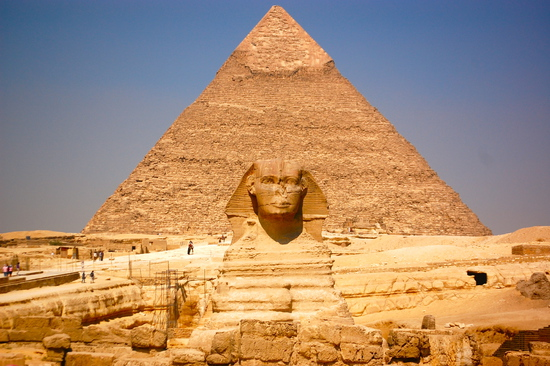 Share International December 2018 images, Egypt's Great Pyramid at Giza was built thousands of years ago for the purpose of attracting certain energies beneficial to the people of that time.