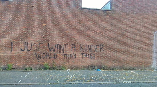 Share International September 2020 images, Sharing will create a kinder world