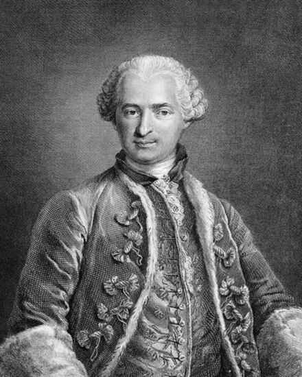 Share International January / February 2021 images, Comte de Saint Germain